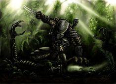 Alien vs. Predator by Threepwoody.deviantart.com on @DeviantArt