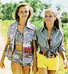Beach fashions, Seventeenmagazine,May 1973.