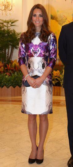 En fotos: Los mejores 'looks' de Kate Middleton en el extranjero