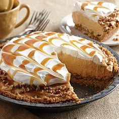 Everybody loves pie! The caramel ice cream topping adds phenomenal flavor and leaves your mouth watering for more.