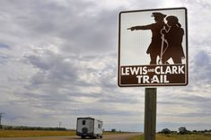 Want to see the best steps along the Lewis and Clark Trail? Our road trip guide will take you there on your next adventure. Oregon Road Trip, Oregon Trail, Lewis And Clark Trail, Road Trip Planner, Land Of The Free, Old West, California Travel, Travel Usa, Trip Planning
