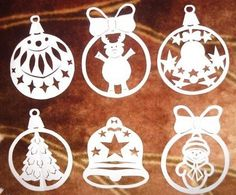 Ablakkép Metal Crafts, Wood Crafts, Diy And Crafts, Paper Crafts, Christmas Crafts, Christmas Decorations, Christmas Ornaments, Holiday Decor, Kirigami