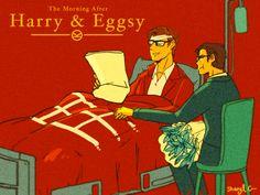 Kingsman: the Secret Service - Harry Hart x Gary 'Eggsy' Unwin - Hartwin