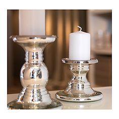 Kerzenständer Silber Ikea blomster kerzenhalter 3 st ikea 16 20 und 24 cm hoch