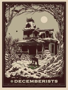 The Decemberists Gig Poster