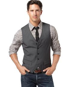 Grey Vest For the Guys