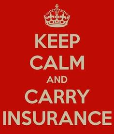 Keep calm and carry insurance!