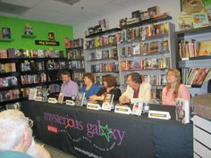 Mysterious Galaxy author event