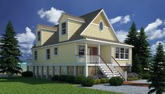 Ocean View of Coastal Living Collection - Excel Modular Homes
