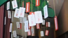 TEDx SoCal - Tree of Commitment by Sam Eames, via Behance