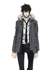 Shinya Kogami's jacket ,PSYCHO-PASS, from noitamina apparel
