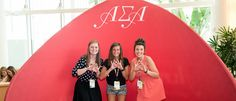 Read more about our experience at #Imagine2016 on our blog! http://www.greekyearbook.com/blog-alphasigmaalpha-nationalconvention @asahq #ASA #AlphaSigmaAlpha