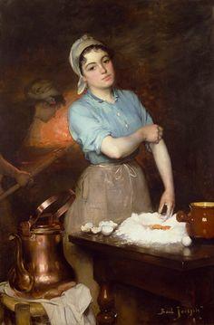 Titulo de la imágen Joseph Bail - The Pretty Pastry Cook