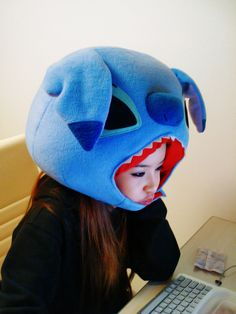 Stitch Hat (OMG, I NEED THIS RIGHT NOW!!!).