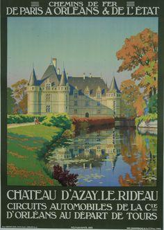 Château d'Azay le Rideau. www.galerie-graglia-others.com Touraine Loire Valley France