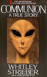 A Grey popularized from the cover of Communion by Whitley Strieber. The portrait was painted by Ted Seth Jacobs to Strieber's description and approval. - Grey Aliens from the Zeta Reticuli