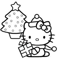 Kleurplaten Kerstmis Hello Kitty.36 Beste Afbeeldingen Van Kleurplaten Hello Kitty In 2019 Coloring