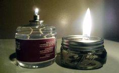 DIY 100 hr candles