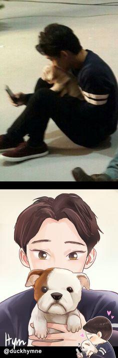 Chen fanart by Hym #duckhymne