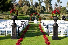 Location: Marbella Country Club, San Juan Capistrano, CA - Whether you prefer a quaint garden wedding, a beautiful indoor ceremony in one of our elegant ballrooms, or an enchanted evening under the stars on the Valencia Terrace, we can accommodate a guest list of up to 200. The beautiful ceremony site, with reception space just steps away, makes the day almost effortless. The serene atmosphere and breathtaking views offer picture perfect backdrops to capture the moments of your special day.