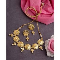 1a0f2f4fec70 Comprar Set Aretes Collar Devi.Diseños Hechos India. Envío Gratis