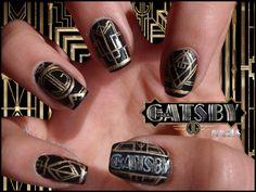 The Great Gatsby 2013 | The great Gatsby nails by ~JawsOfKita-LoveHim on deviantART