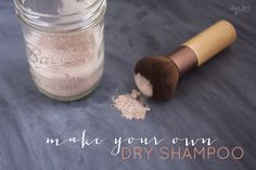 DIY Dry Shampoo | Hey Love Designs