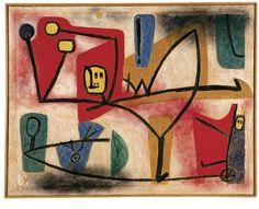 Paul Klee High Spirits 1939, 1251 (PQu 11)