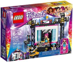 LEGO Friends 41117 - Pop Star TV Studio #lego #legofriends #legofriends2016
