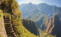 Caminar hacia Machu Pichu...
