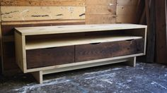 Reclaimed Wood Console by Nightwood