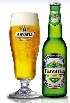 Cerveja Bavaria Holland, estilo German Pilsner, produzida por Bavaria Brouwerij, Holanda. 5% ABV de álcool.