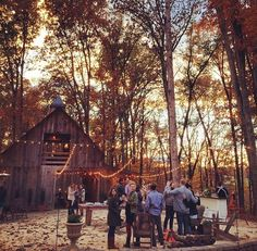 paulcorgan:  with-grace-and-guts:  Kinfolk Dinner, Charlottesville // via meetID.co  So this is perfect.  One life I could see myself happily living would be to own a lot of land and operate a Christmas tree farm out of part of it and have an idyllic wedding venue nestled back in the woods elsewhere. A place like this is what i've been imagining.