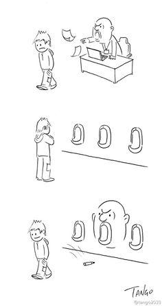 上海插畫家 Shanghai Tango的幽默插畫