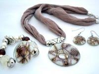 Collar Athenas - Pulsera Glam - Aros Básicos - Cristálida
