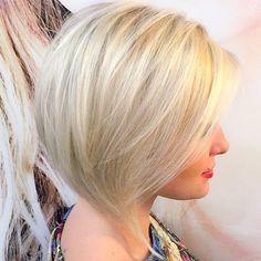 Platinum Blonde Bob