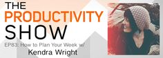 Zack chats with Kendra Wright about her awesome strategy for planning her week. This strategy will change the way you think about your calendar, helping you to fit in self-care and work and feel fulfilled during your week but not over-worked. Cheat Sheet Why Kendra's way of planning her week is awesome and how you …