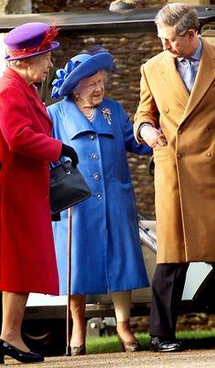 HM Queen Elizabeth, the Queen Mother.