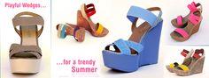 Sandale dama Wedges, Shoes, Fashion, Moda, Zapatos, Shoes Outlet, Fashion Styles, Shoe, Footwear