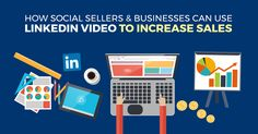 How Social Sellers & Businesses Can Use LinkedIn Video to Increase Sales Increase Sales, Time Quotes, Growing Your Business, Social Media, Marketing Strategies, Tips, Advice, Social Networks, Social Media Tips