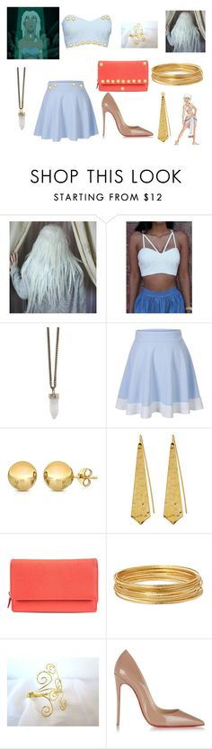 """""""Kida"""" by chloe280601 ❤ liked on Polyvore featuring Givenchy, Sevil Designs, Panacea, Mundi, Bold Elements and Christian Louboutin"""