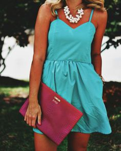 GiGi New York   Just Dandy Fashion Blog   Magenta Uber Clutch