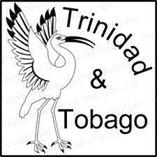 Trinidad and Tobago Rubber Stamp