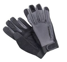 Manswork MicroSuede Stretch Work Glove, Off Black, $22.99