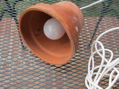 How To Upcycle Reclaimed Garden Pots Into DIY Pendant Lamps   Urban Gardens