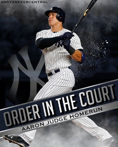"""4,015 Likes, 26 Comments - New York Yankees Fan Page (@nyyankeescentral) on Instagram: """"UNFAIR. THE JUDGE GOES DEEP AND GIVES THE YANKEES A 2-0 LEAD!"""""""