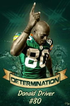 Donald Driver! He might have been born in Texas, but after spending his entire career with the Packers, and receiving a key to the city of Green Bay, we can call him a Wisconsinite. #GoPackGo