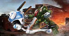 ROBOTECH RPG Tactics Hand to Hand Attacks by ChuckWalton