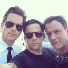 Neal, Keller and Peter. White collar season 6.
