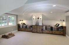 Updated Boys Bunk Room